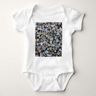 Body Para Bebé textura de las rocas de las piedras