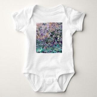 Body Para Bebé textura de piedra amethyst