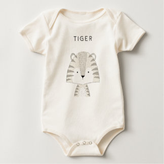 Body Para Bebé Tiger