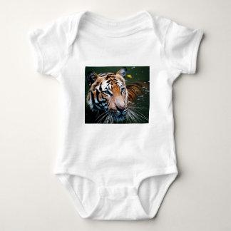 Body Para Bebé Tigre de los alquileres en agua