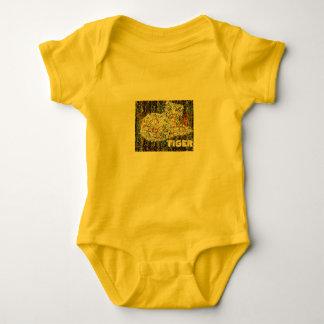 Body Para Bebé Tigre y elefante de bebé