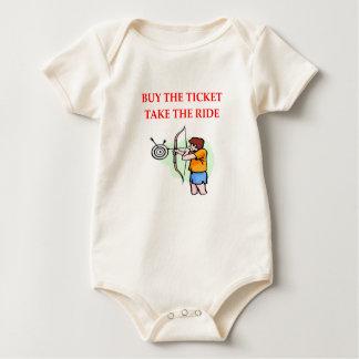 Body Para Bebé tiro al arco