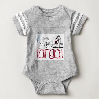 Body Para Bebé Toda lo que usted necesita es cita del tango
