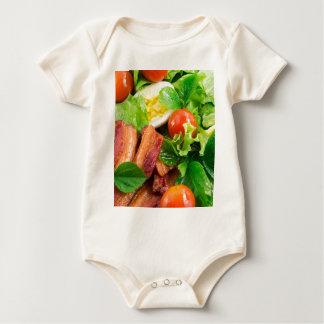 Body Para Bebé Tomates de cereza, hierbas, aceite de oliva,