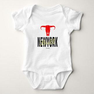 Body Para Bebé Toros de NYC New York City por VIMAGO