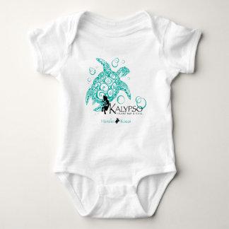 Body Para Bebé Tortuga de mar de Kalypso