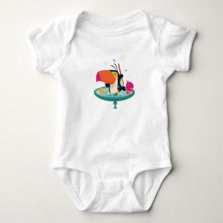 Body Para Bebé Toucan en la tina