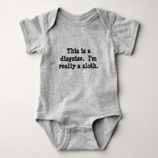 Body Para Bebé Traje de la pereza
