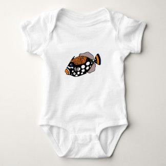 Body Para Bebé Triggerfish del payaso