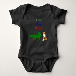 Body Para Bebé TSULA - Mono cherokee del bebé de la ropa del Fox