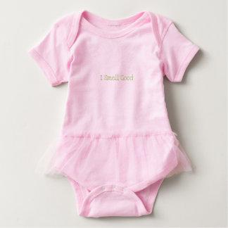 """Body Para Bebé Tutú adorable del bebé """"que huelo bueno"""""""