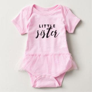 Body Para Bebé Tutú de la pequeña hermana