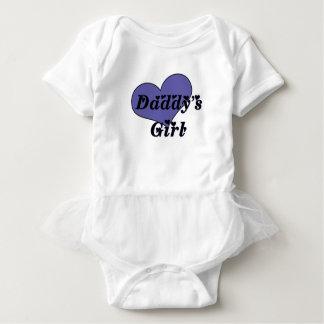 Body Para Bebé Tutú del chica del papá