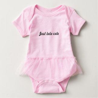 Body Para Bebé Tutú lindo