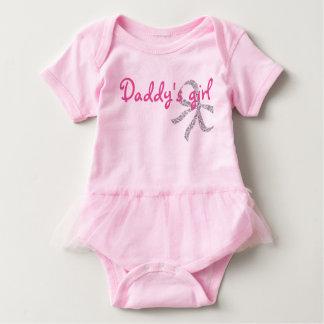 Body Para Bebé Tutú lindo del bebé del chica del papá