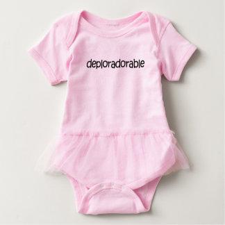 Body Para Bebé ¡Tutú lindo! ¡Mono deplorablemente adorable del