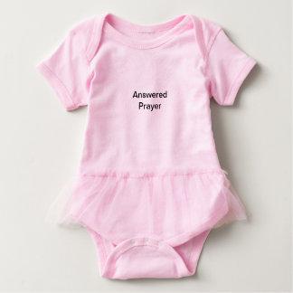 Body Para Bebé Tutú rosado