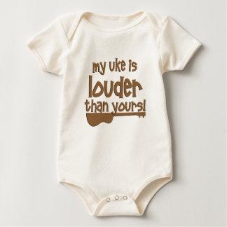 Body Para Bebé Ukulele divertido