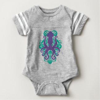 Body Para Bebé Ultravioleta del calamar del damasco en Arcadia