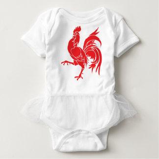 Body Para Bebé Un gallo rojo
