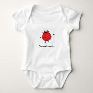 Body Para Bebé Un mono caliente del bebé del tomate
