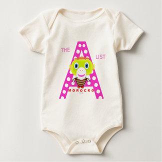 Body Para Bebé Un Mono-Morocko Lista-Lindo