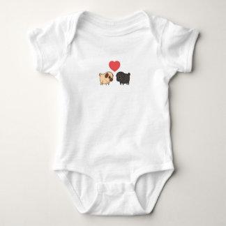Body Para Bebé Una pieza del bebé del barro amasado
