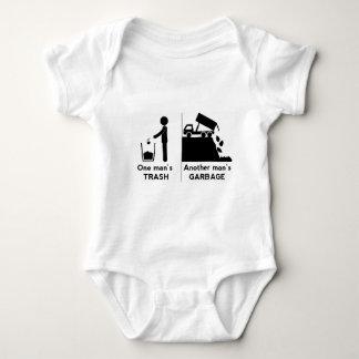 Body Para Bebé Uno sirve basura