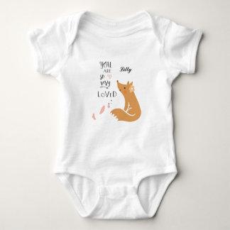 Body Para Bebé Usted es mono tan muy amado del bebé