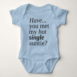 Body Para Bebé ¿usted ha encontrado a mi sola tía caliente?