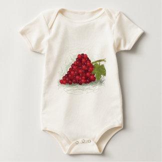 Body Para Bebé uvas