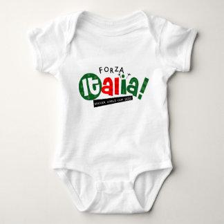 Body Para Bebé Va el fútbol del mundo de Italia