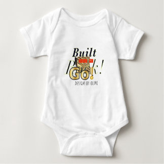 """Body Para Bebé """"Va mono del bebé de la roca"""""""