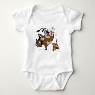 Body Para Bebé Vaca de Cowpeira