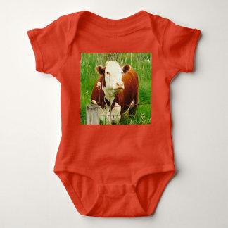 Body Para Bebé Vaca hilarante 4Billy