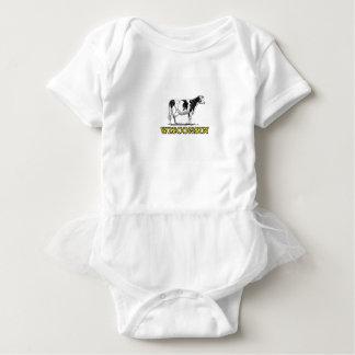 Body Para Bebé Vaca lechera de Wisconsin
