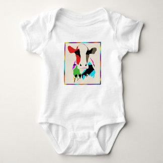 Body Para Bebé Vaca Onsie del arco iris