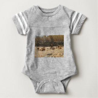 Body Para Bebé Vacas