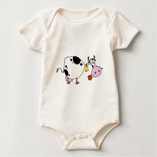 Body Para Bebé vache