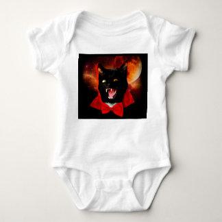 Body Para Bebé vampiro del gato - gato negro - gatos divertidos