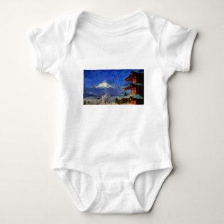 Body Para Bebé Van Gogh Mt-Fuji-Japón