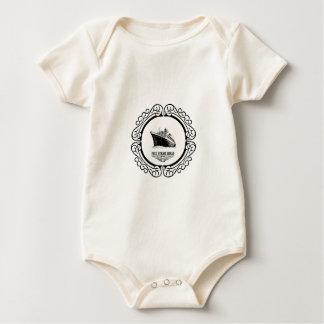 Body Para Bebé vapor lleno redondo a continuación