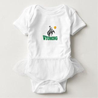 Body Para Bebé Vaquero de Wyoming