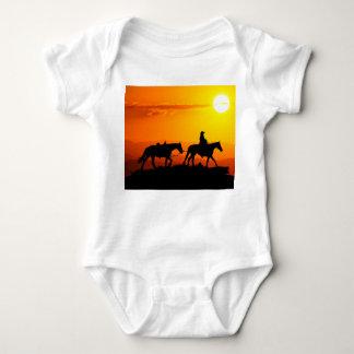 Body Para Bebé Vaquero-Vaquero-Tejas-occidental-país occidental