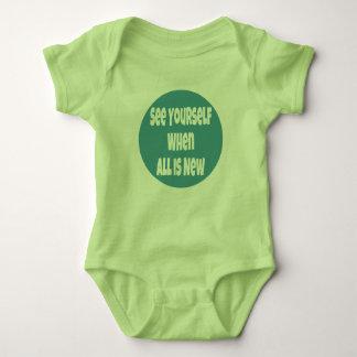 Body Para Bebé Véase cuando todo es nuevo puente de bebé