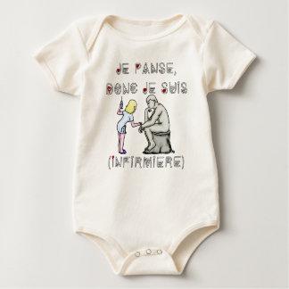 Body Para Bebé Vendé pues yo soy (Enfermera) - Juegos de palabras