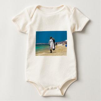 Body Para Bebé Vendedor en la playa