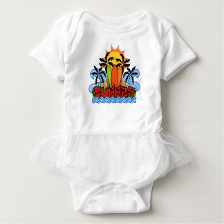 Body Para Bebé Verano tropical