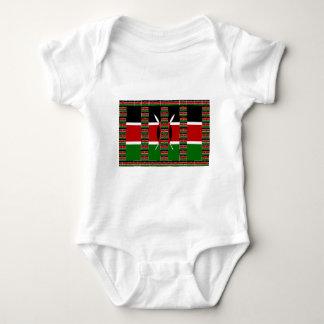 Body Para Bebé Verde rojo negro de Kenia