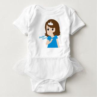 Body Para Bebé Versión del bebé de la reina del papá